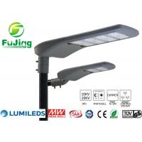 Hollow Out Structure Led Parking Lot Light Fixtures 100w For Residential Roads Manufactures