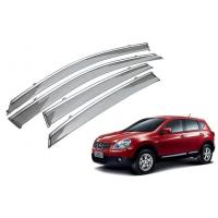 Rain Shield For Nissan Qashqai 2008 - 2014 With Stainless Steel Stripe Manufactures