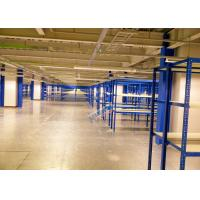 Blue Selective Boltless Industrial Shelving 225 Kg Per Level Material Handling Racks Manufactures