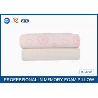 Comfort Children Ventilated Contour Cloud Memory Foam Pillow , Health Cotton Cover Pillow Manufactures