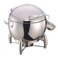Round Soup Station Stainless Steel Kitchenware With 11.0L Bucket Manufactures