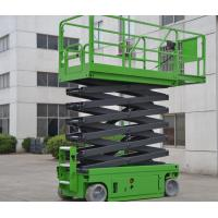 13.8 Meters Electric Elevated Self Propelled Scissor Lift with Extension Platform , 230Kg Manufactures