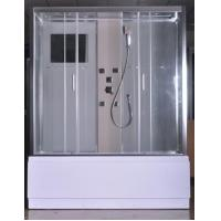 Quality Rectangular Clear Glass Shower Enclosures , Rectangular Shower Stalls Kits for sale