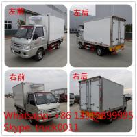 FOTON 4×2 41HP 1tons Refrigerator Truck,best quality  forland mini 1tons gasoline cold room truck for ice-cream for sale Manufactures