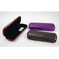 Printing Classic Luxury Small Spectacle Cases Polka Dot Designed 160X60X31 mm Manufactures