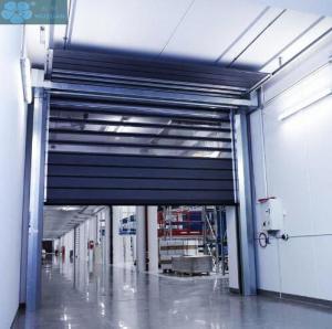 Wind Resistance 1.7KW 220V High Speed Spiral Door Manufactures