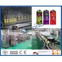 Concentrated Beverage Production Line Fruit Juice Processing Line Electric Driven Manufactures