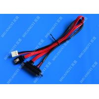 Quality Sata Connector 7+15 7in to 7 Pin Sata Cable Power Cable 100mm for sale