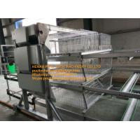 Poultry Farming Silver Color Hot-dip Galvanized Sheet Simple H Type  Automatic Broiler Cages & Chicken Coops Equipment Manufactures