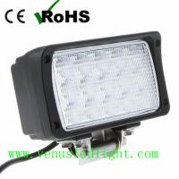 45w Epistar LED WORK LIGHT 4x4 4WD JEEP SUV OFF ROAD MINE Boat Flood lamp Manufactures