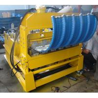 0 - 12m/min High Speed PLC Control Roof Crimping Curved Machine for Roof Curving Manufactures