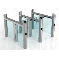 High Security Swing Barrier Gate Waterproof RIFD Smart  Turnstile System Manufactures