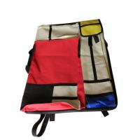Quality 4K hand-held double-sided drawer bag stitching red and yellow blue multi-functional painting bag for sale