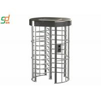 Single Full Height Turnstile Smart High Security  Gym Barrier Gate Manufactures