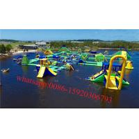 World largest waterpark, inflatable sea water park Manufactures