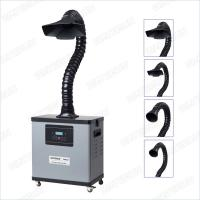 Durable 99.97% Solder Fume Extractor , F6001d Portable Fume Collector Manufactures