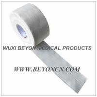 White Non - Elastic Strip Glue Sports Strapping Tape Fix Hot Cold Packs In Position Manufactures