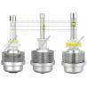 30W 3600LM LED Headlights Bulbs / Philips LED 9008 Headlight Bulbs 5500K-6000K Manufactures
