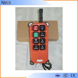 8 Programmable Hoist Push Button Switch For Beam Launcher TELECRANE F21-E1B Manufactures