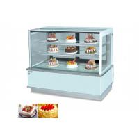 45° Cake Display Cooler / CLN-1500 Commercial Chest Freezer Energy saving Manufactures