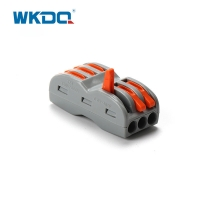 2.5mm2 3 Poles Terminal Block Push In Wire Connectors Manufactures