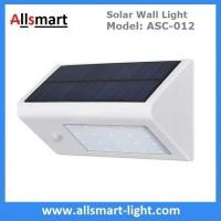 Solar Wall Light ASC-012 20LED 350lm Solar Motion Light Solar Garden Light Solar Security Light Solar Sensor Wall Light Manufactures