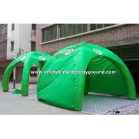 Quality Green 4 Man Festival Inflatable Tent Inflatable Lawn Tent Rentals for sale