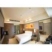 Elegant Five Star Luxury Hotel Bedroom Funiture Set With Dark Veneer For Sale Manufactures