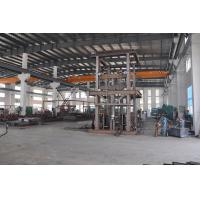 0.5T 4.5m Guide Rail Lift Platform for Cargo with Emergency Stop Button Manufactures