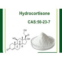 Hydrocortisone CAS 50-23-7 Cutting Cycle Steroids , Anti Inflammatory Glucocorticoid Steroids Manufactures