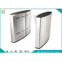 Quality Electric Indoor Wing Flap Barrier Gate Turnstile Subway Or Metro Access for sale