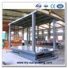 Scissor Type Pit Lifter Double Deck Smart Car Parking System for 2 Vehicles Manufactures