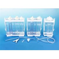 Portable Vacuum Drainage System Wound Care Double chamber 2500ml Fr16 Fr18 Manufactures
