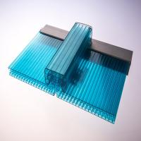 Quality 10 Years Guarantee Lexan Corrugated Panels , Bayer Makrolon Polycarbonate Sheet for sale
