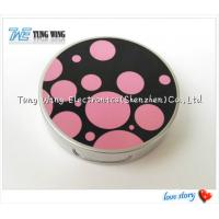 Promotional Pocket Makeup Mirror Cosmetic Compact Mirror With Music Manufactures