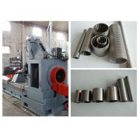 Automatic Cylindrical Screen Welded Wire Mesh Machine With Mitsubishi Servo Motor Manufactures