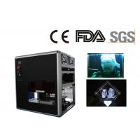 800W Glass Laser Engraving Machine 1 Galvo X / Y / Z Motion Controlled Manufactures