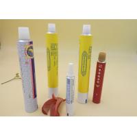 Aluminum Printed Tube Packaging For Ointment Cream / Gel Screw Cap Manufactures
