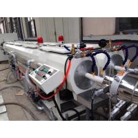 Buy cheap Customized Color PVC Pipe Extrusion Production Line Double Cavities Die Head from wholesalers