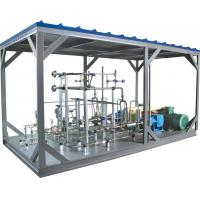 High Pressure Pump LNG Skid Mounted Equipment 20-70mpa 1000L/h Manufactures