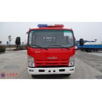 Quality 139KW Max Power Heavy Rescue Fire Truck Fuel Tank 100L AKRON Fire Monitor for sale