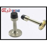 Hydraulic Magnetic Door Stopper  Brush Stain Nickel With Rubber Material Wall Bumper Door Catcher Manufactures