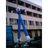 Outdoor Inflatable Advertising Products Blue Air Dancers For Opening Ceremony Manufactures