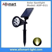 Quality Solar Spotlights 7 LED Changing Color Garden Solar Lights Outdoor Bright Dark for sale