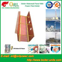 SA210A1 Alloy Steel Boiler Water Wall Tubes Floor Standing SGS Standard Manufactures