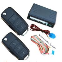 Flip Key Remote Engine Start Stop System Trunk Open Feature Siren Output Manufactures