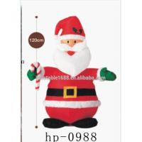 Funny Inflatable Advertising Products Fatty Inflatable Santa Claus Manufactures