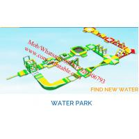Giant Inflatable Water Park For Adult inflatable water park water park equipment Manufactures