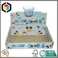 CMYK Full Color Offset Printed Corrugated Display Box; Glossy Display Stand Box Manufactures