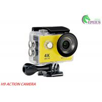 "H9 WiFi Waterproof 30M 1080P HD Action Camera 2.0"" LCD OV4689 170Degree Sports DV Manufactures"